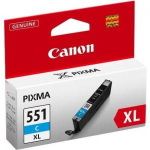 Cartridge CANON CLI-551C XL cyan
