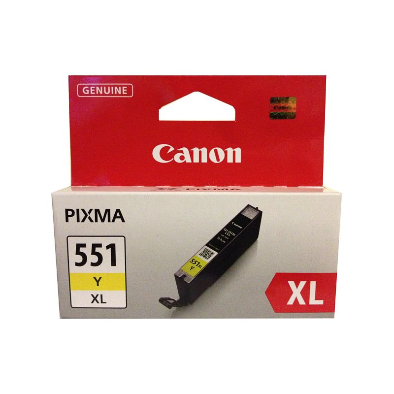 Cartridge CANON CLI-551Y XL yellow
