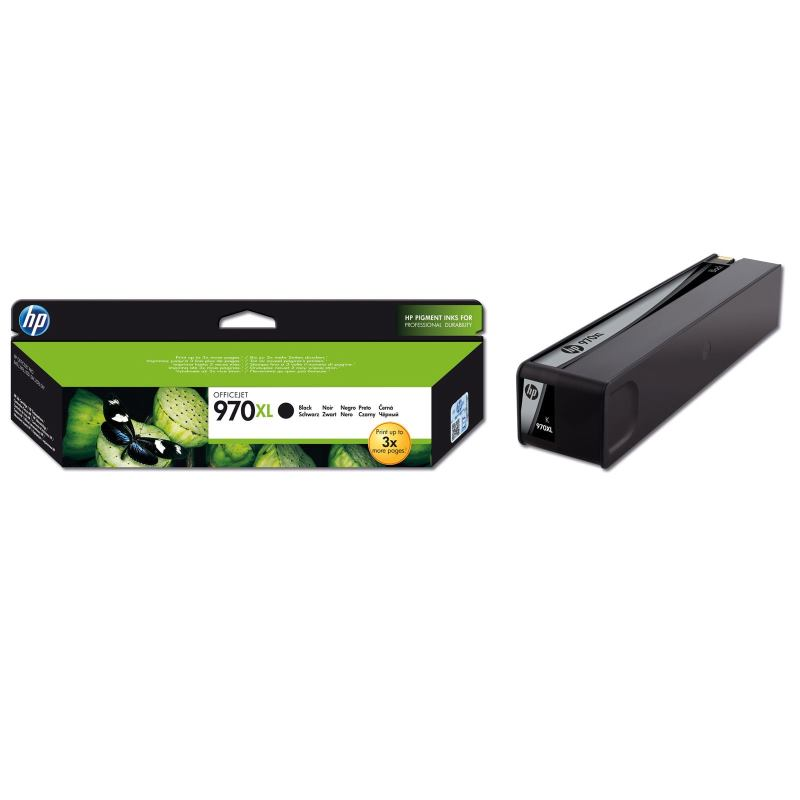 HP Cartridge CN625AE 970XL Black Ink 9200str