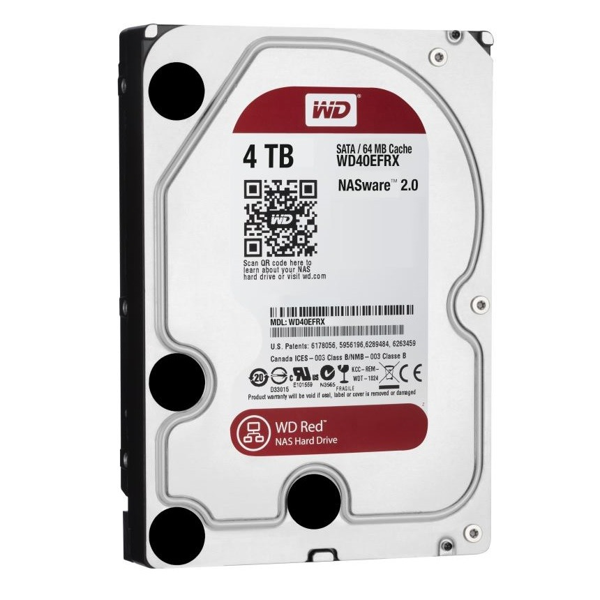 """WD Red NAS 4TB 3,5""""/64MB/26mm"""