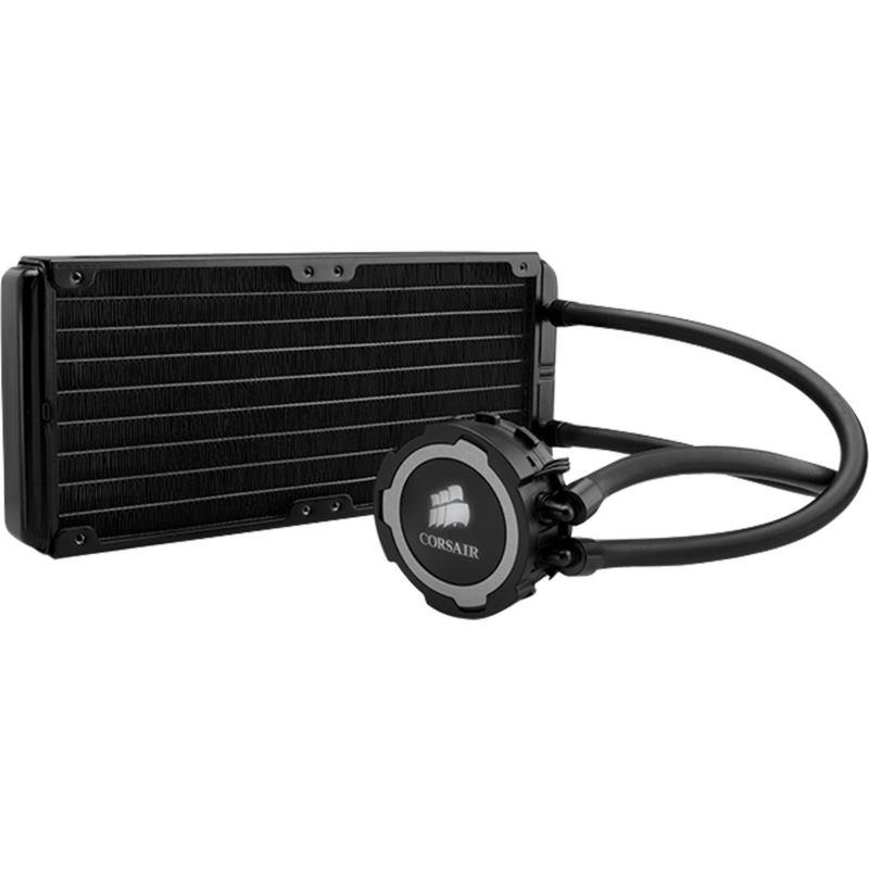 Corsair -- Hydro cooler H105 pre CPU 2x12cm ventil