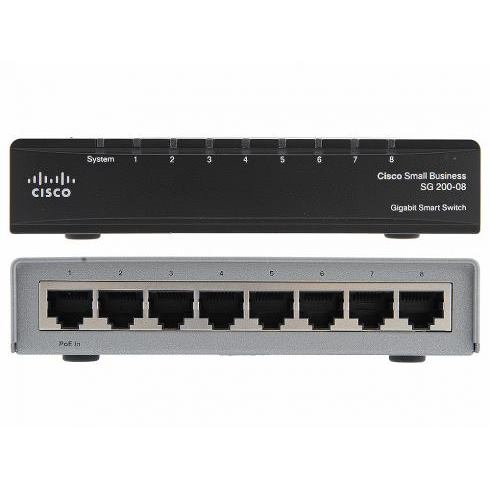 CISCO Switch 8-Port/1000Mbps/MAN/Desk