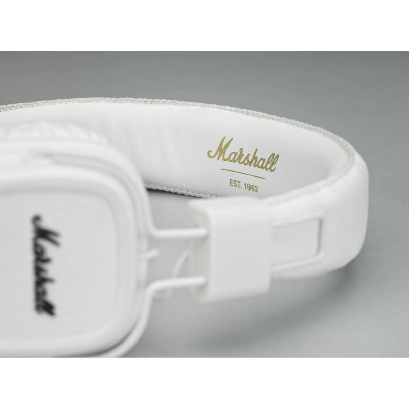Sluchadla Marsall Major II White