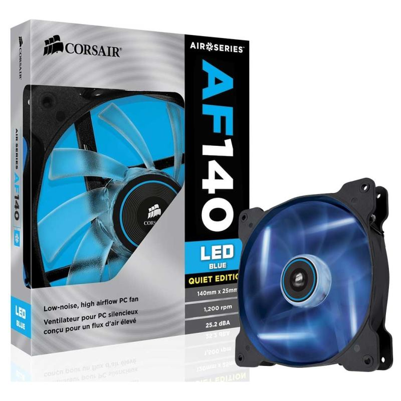 Corsair -- Air cooler AF140 LEDBlue 140x25 1ks/led