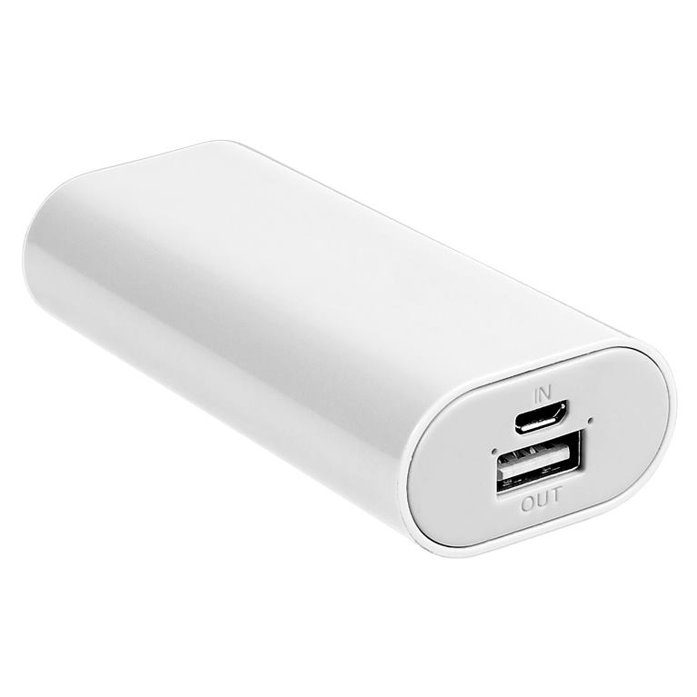 TRACER - Power Bank 5200 mAh White