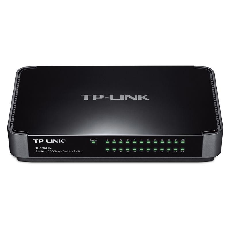 TP-Link Switch 24-Port/100Mbps/Desk
