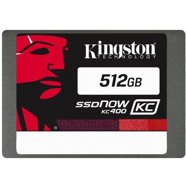 "KINGSTON SSDNow KC400 512GB/2,5""/SATA3/7mm"