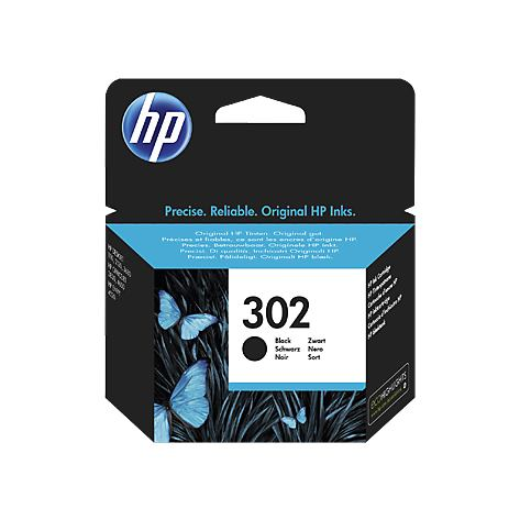 HP Cartridge HP 302 Black 3,5ml