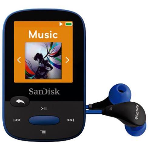 SANDISK Sansa Clip Sports 8GB modrá