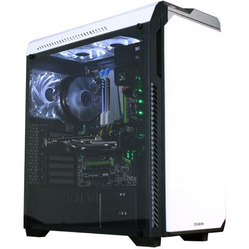 CASE ZALMAN Z9 Neo Plus, akrylova bocnica biela