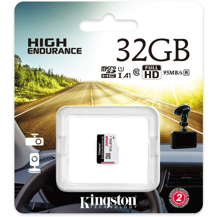 KINGSTON Micro SDHC HIGH Endurance 32GB UHS-I