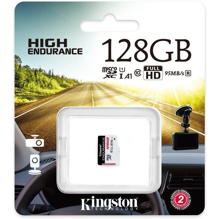 KINGSTON Micro SDXC HIGH Endurance 128GB UHS-I