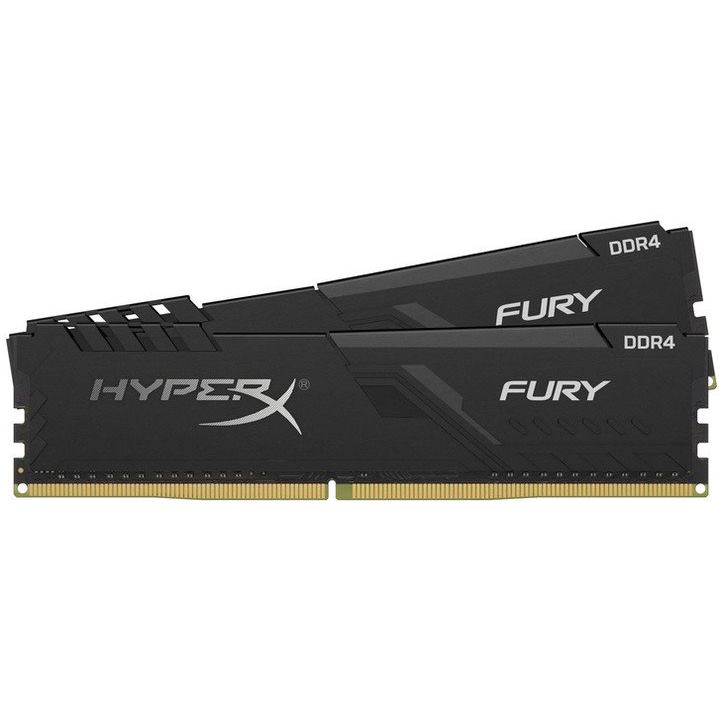 KINGSTON HyperX Fury Black 2x8GB DDR4 2400MHz