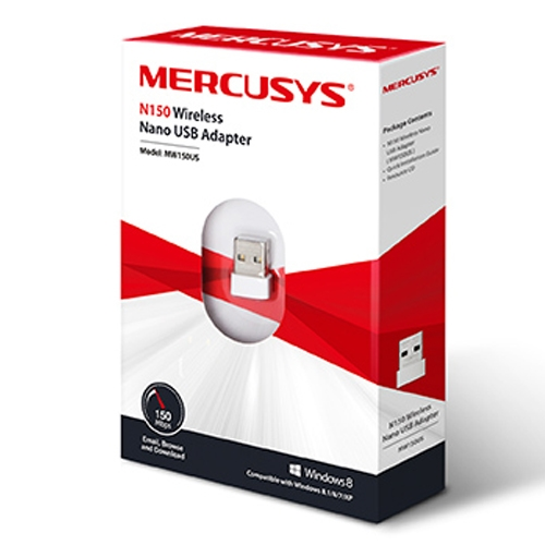 MERCUSYS MW150US, N150 Wireless Nano USB Adapter