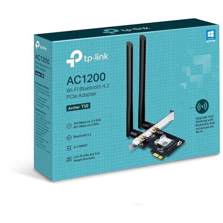TP-Link Archer T5E, AC1200 Wi-Fi Bluetooth 4.2 PCI