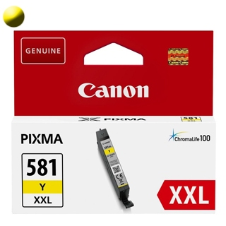 CANON Cartridge CLI-581XXL Y Yellow