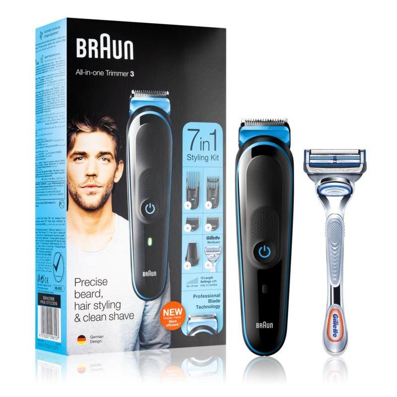 BRAUN MGK3242 7v1, Zastrihávač vlasov a brady