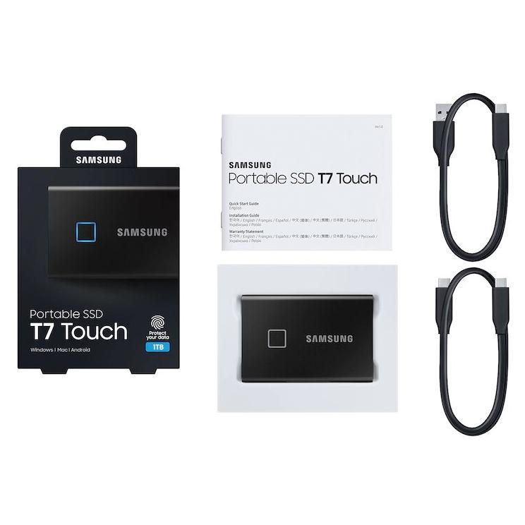 "SAMSUNG T7 Touch 2,5"" SSD, 1TB, black"