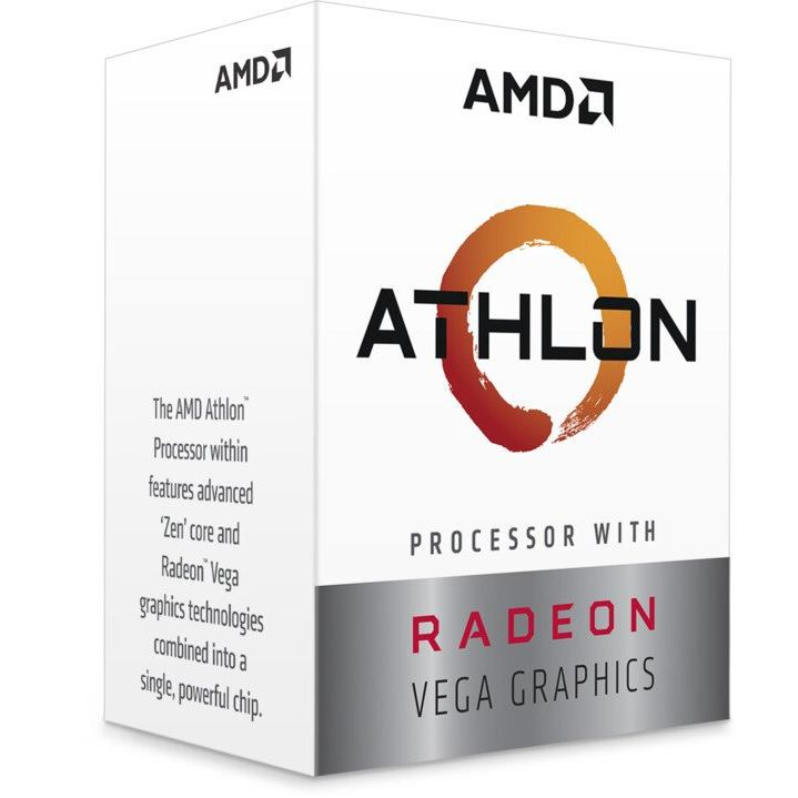 AMD Ryzen 3 3000G AM4 Radeon Vega 3 BOX