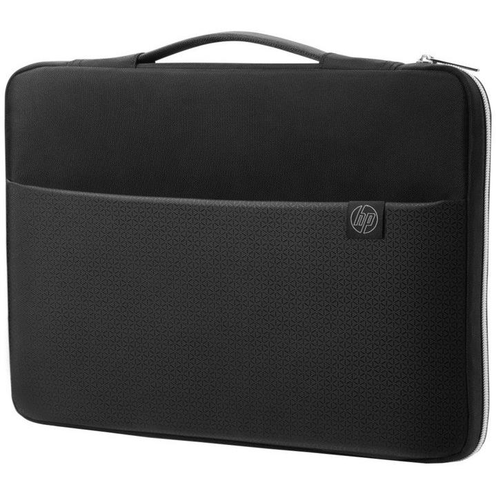 HP Carry Sleeve, black/silver 15.6