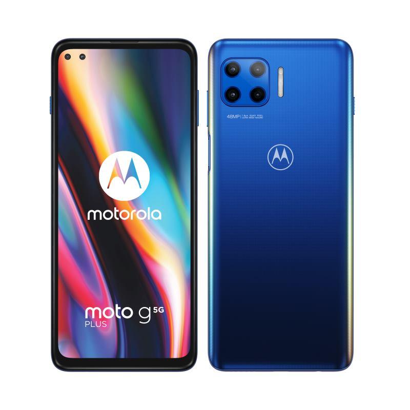 MOTOROLA Moto G 5G Plus, 6GB/128GB DUAL Sim blu