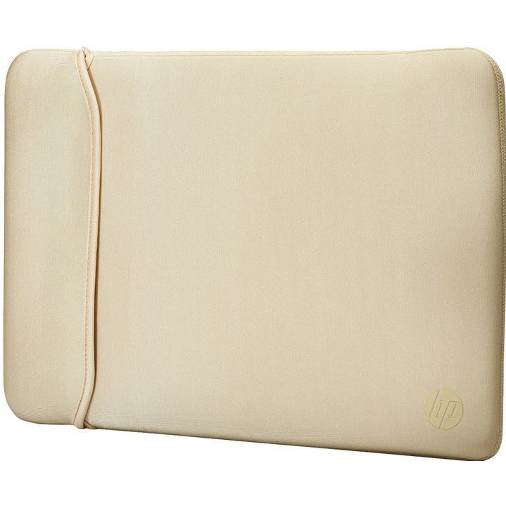 "HP 15.6"" Reversible Sleeve, Black / Gold"