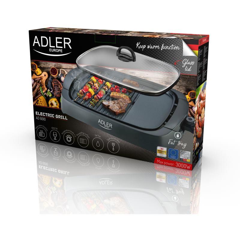 ADLER AD 6610 , Elektrický gril