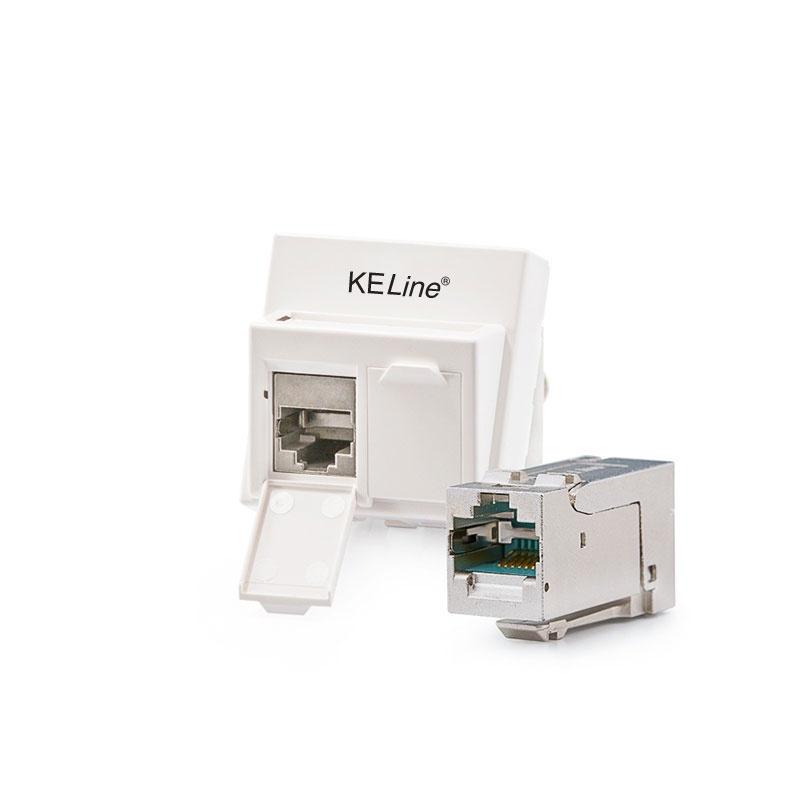 KELINE Zásuvka 601120 + KEJ-C6A-S-HD(2)