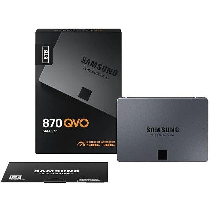 """SAMSUNG SSD 870 QVO 8TB/2,5""""/SATA3/7mm"""