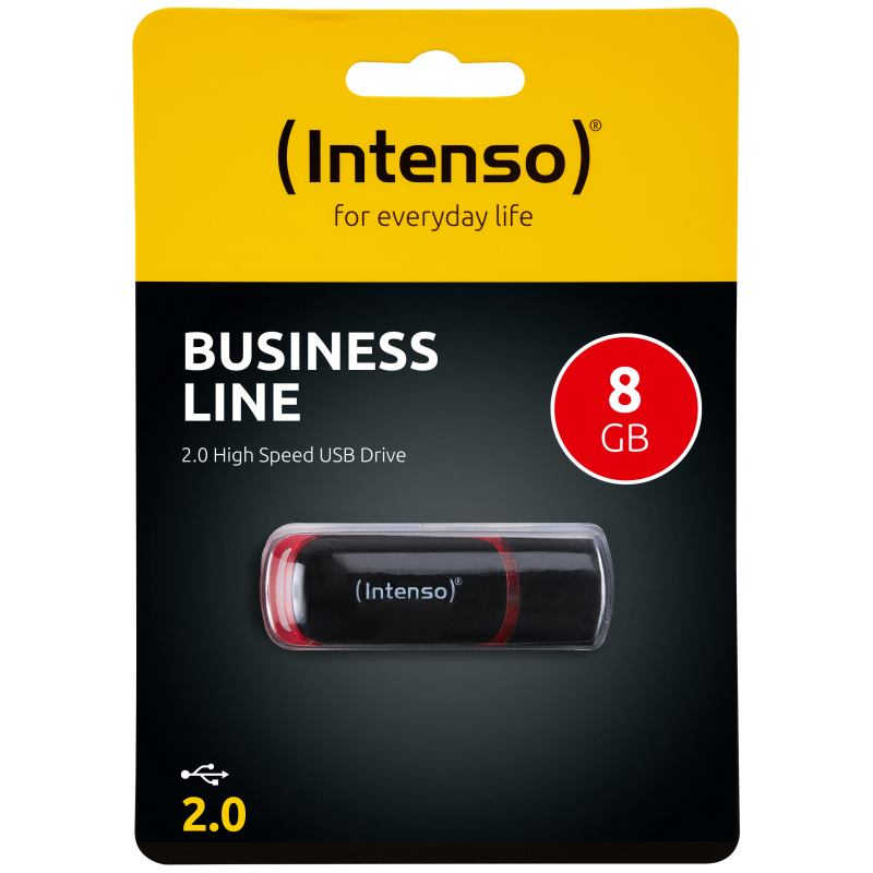 INTENSO - 8GB Business Line USB 2.0 3511460