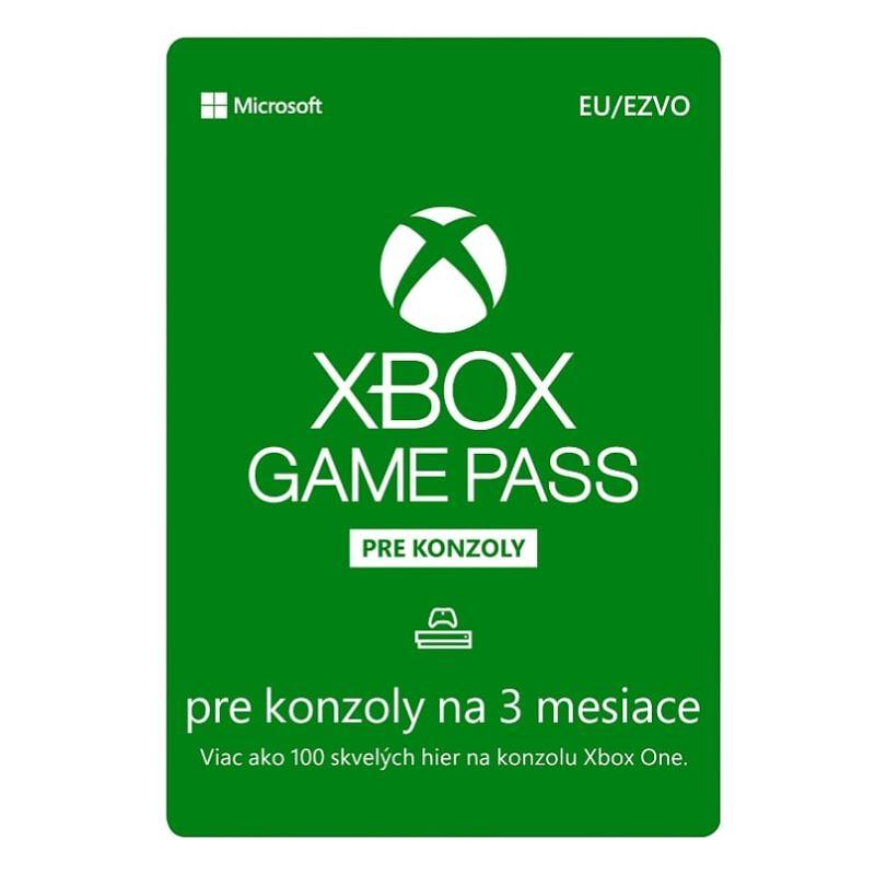 MICROSOFT Xbox Game Pass 3 mesiace (JPU-00086)