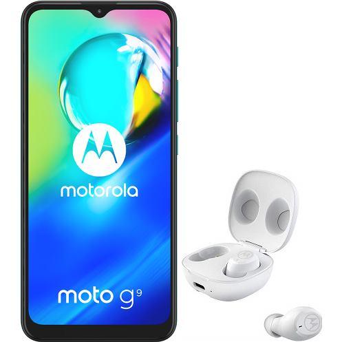 MOTOROLA Moto G9 Play + Moto Buds, 4/64, Grn
