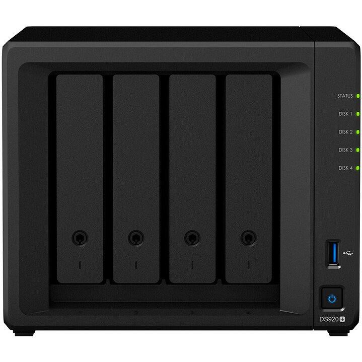 SYNOLOGY DS920+, NAS Server 4GB, 4x HDD/SSD