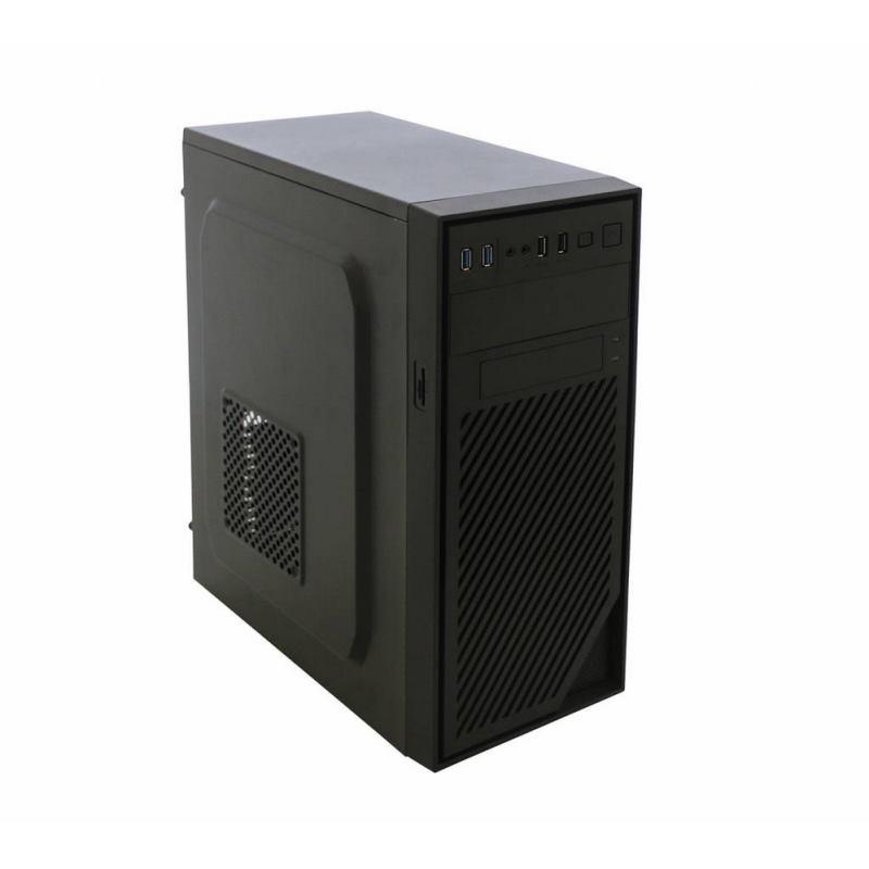 EUROCASE X404 EVO, PC skrinka, Midi Tower, čierna