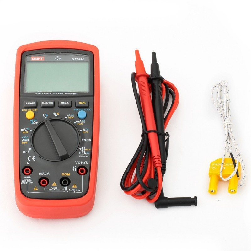 UNI-T UT139C, True RMS Digital Multimeter