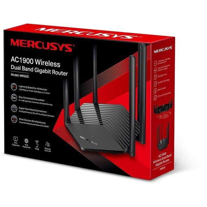 MERCUSYS MR50G, AC1900 Wireless Dual Band Router