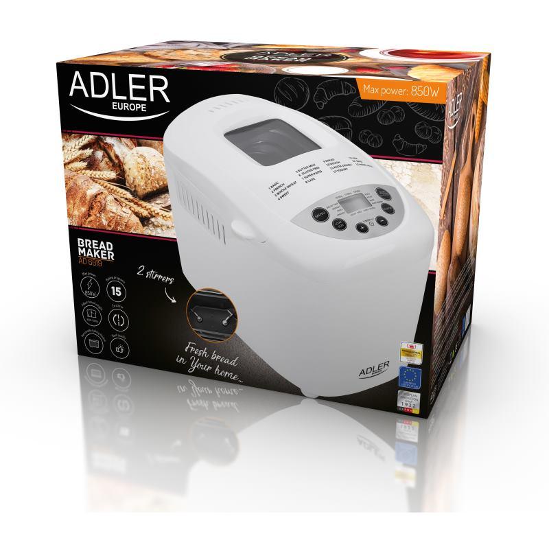 ADLER AD 6019, Pekáreň na chleba