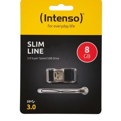 INTENSO - 8GB Slim Line USB 3.0 (3532460)
