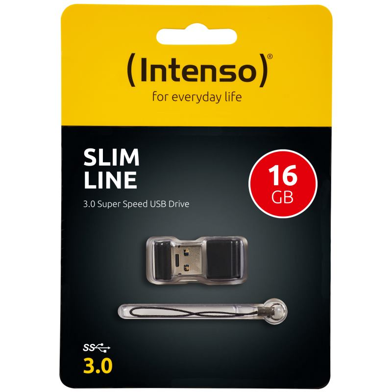 INTENSO - 16GB Slim Line USB 3.0 (3532470)