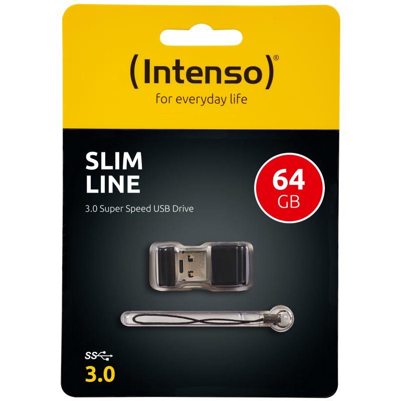 INTENSO - 64GB Slim Line USB 3.0 (3532490)