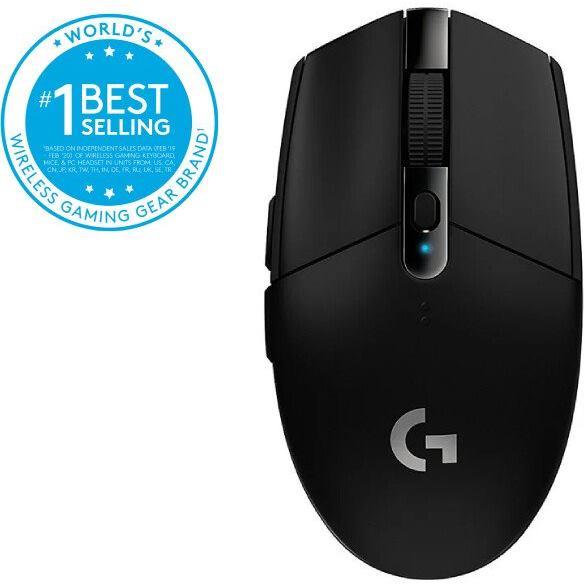 LOGITECH G305 Gaming Mouse - USB - EER2, black