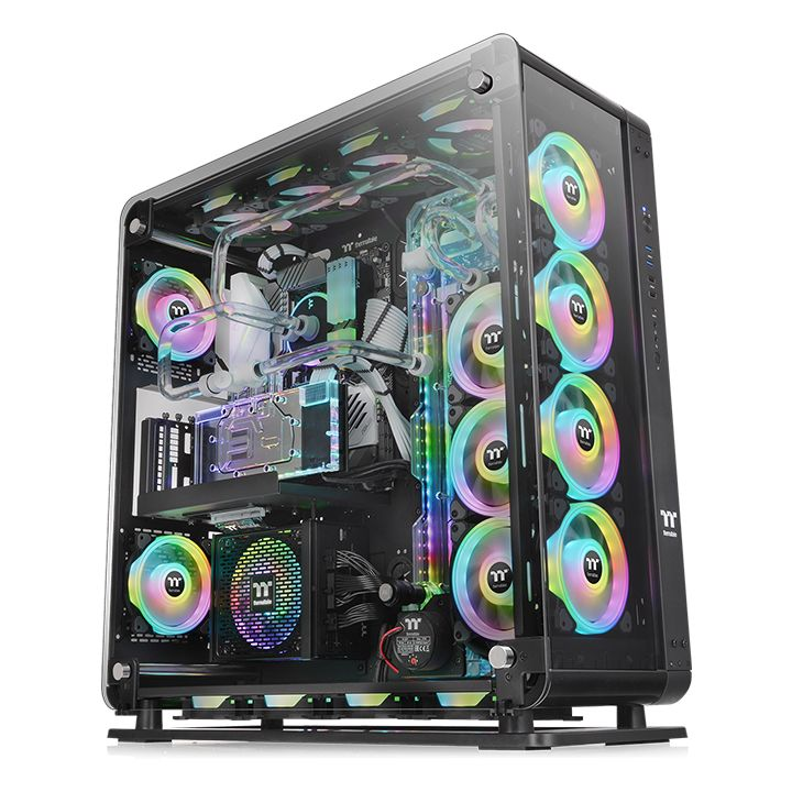 THERMALTAKE Core P8 Tempered Glass, PC Skrinka