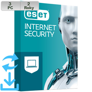 ESET Internet Security 2021 3PC na 2r Aktual