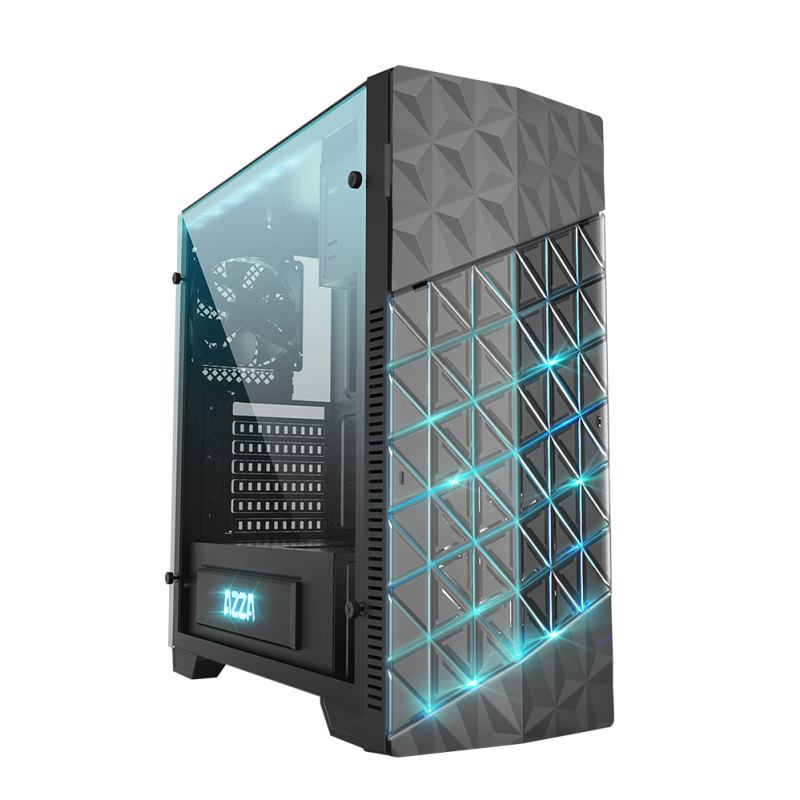AZZA CSAZ 260X B Onyx Gaming Case, PC Skrinka