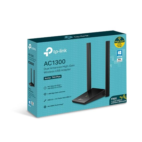 TP-Link Archer T4U Plus AC1300 Wireless USB Adapt