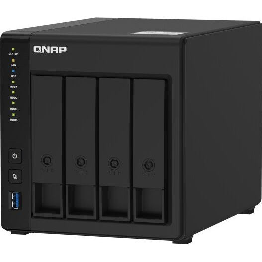 QNAP NAS Server TS-451D2 2GB RAM 4xHDD