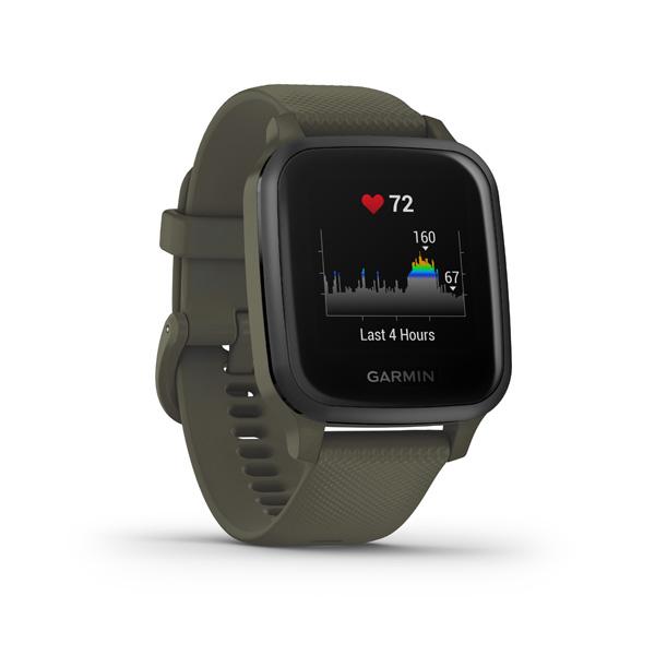 GARMIN VENU SQ Music, Moss/Slate, Smart hodinky