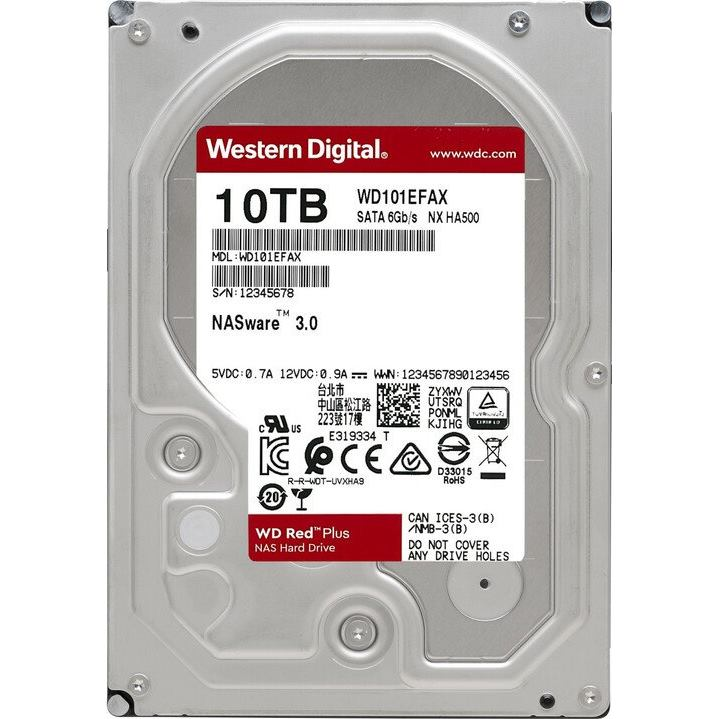 """WD Red NAS 10TB 3,5""""/256MB/26mm"""