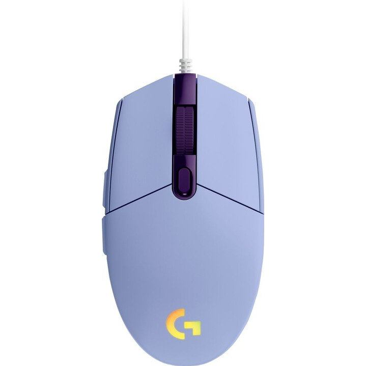 LOGITECH G102 2nd Gen LIGHTSYNC Gaming Mouse lilac