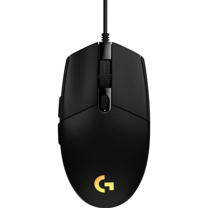 LOGITECH G203 2nd Gen LIGHTSYNC, Hráčska myš, blk